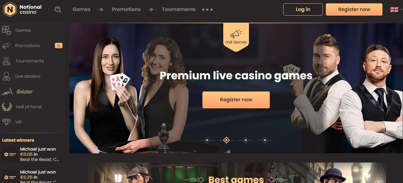 National Casino Online Review