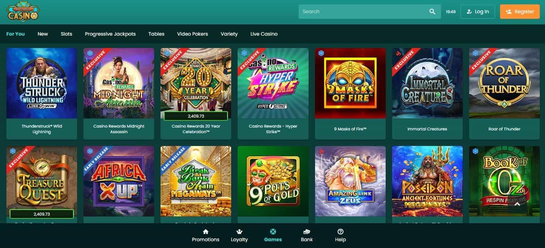 Nostalgia Casino Games