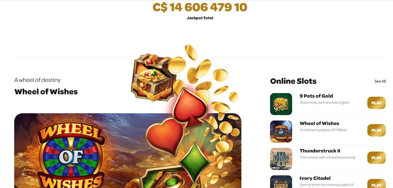 Spin Casino Jackpot