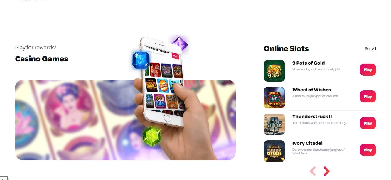 Spin Casino Games