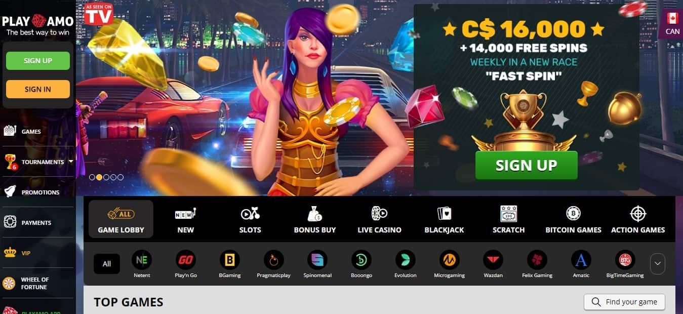 Playamo Casino Promotions