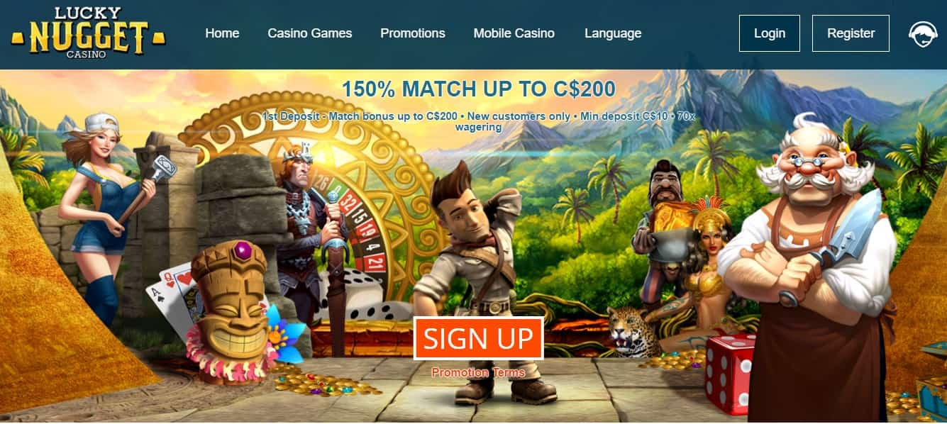 Lucky Nugget Casino Promotions