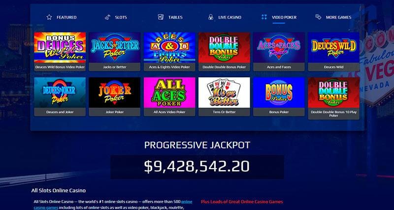 All Slots Casino Games