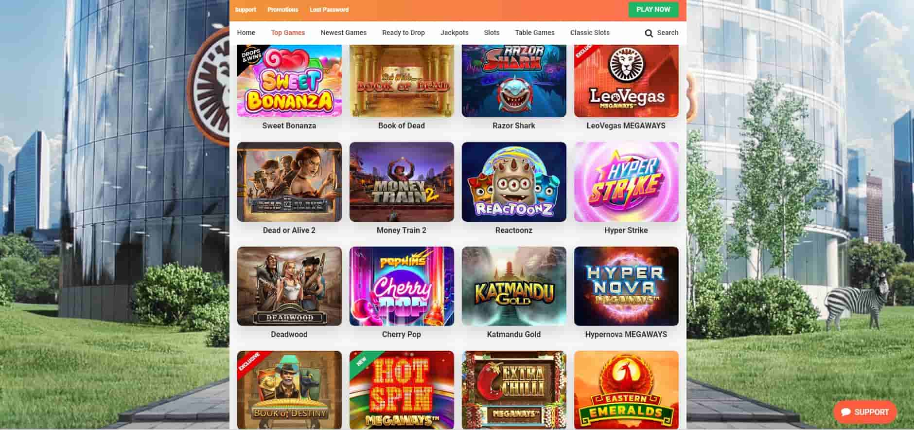 Leo Vegas games-min