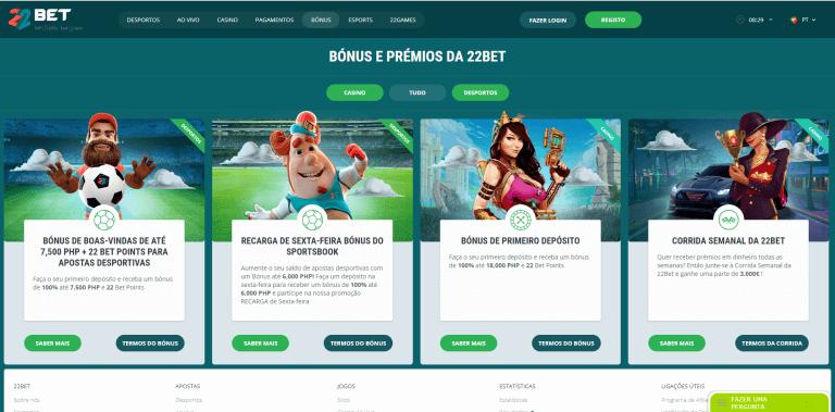 22Bet Casino Promotions