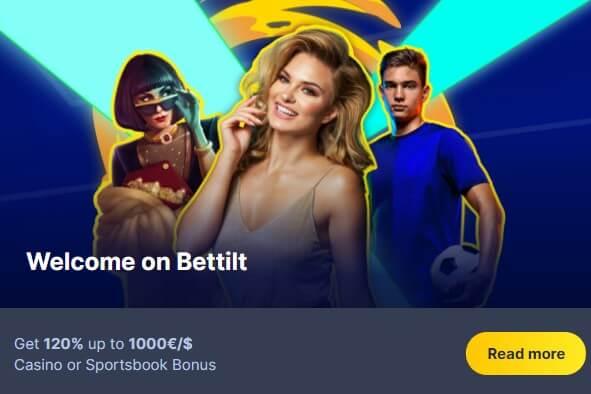 Bettilt Casino Welcome Bonus
