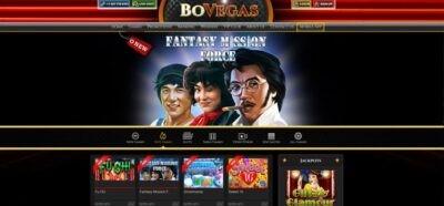 BoVegas Casino Games